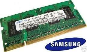Memória Ddr2 Note 1 Giga Samsung