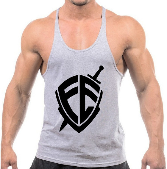 Camiseta Regata Tank Top Academia Fé