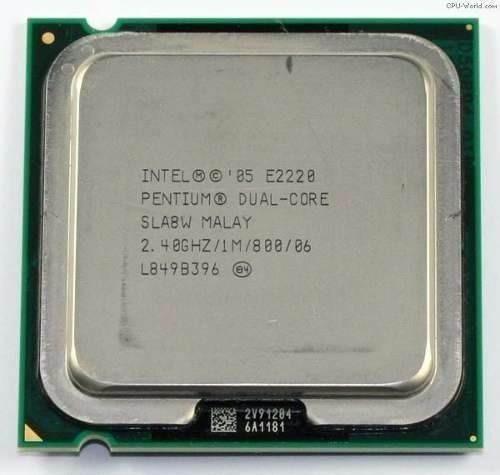 Proc.2.4ghz Intel Dual Core E2220 Skt775 P/pc Envio T.brasil