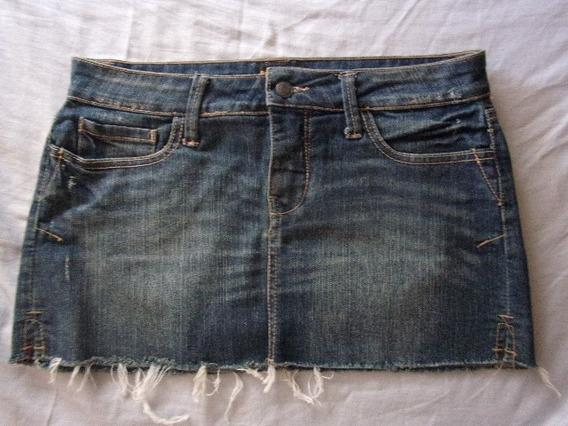 Pollera Minifalda De Jeans Para Dama