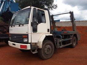 Caminhão Ford Cargo 1215 Ano 2000 Com Bruck Viva Ano 2014
