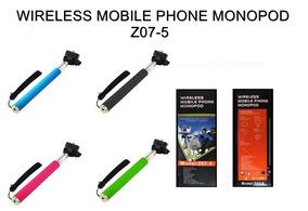 Bastao Selfie Monopod Z07-5 Com Disparador Bluetooth