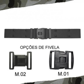 Cinto N.a. Preto Fivela M .02 Cinto Tático Militar