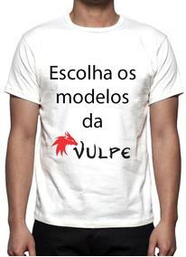 Kit 3 Camisas, Camisetas Estampa Total Modelos Da Vulpe