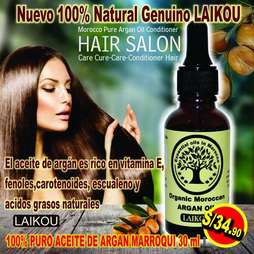 Aceite Argan Genuino Laikou 50% Descuento Original, Sellado