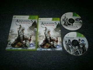 Assassins Creed Iii Completo Xbox 360,excelente Titulo