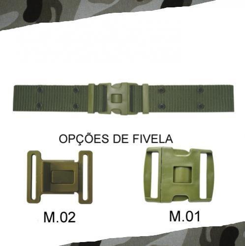 Cinto N.a. Verde Fivela M.02 Tático