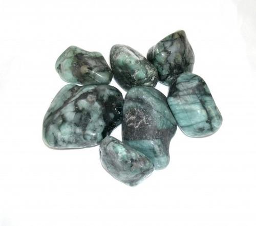 Pedra Rolada Esmeralda 100g - 4111