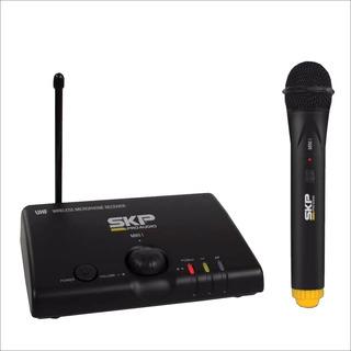 Microfono Inalambrico De Mano Skp Mini 1 Uhf 600~900mhz