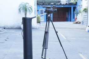 Tripé Profissional Mattedi M10k + Case Nova - Revisado