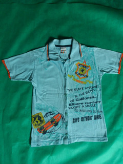 Camiseta Polo Marca Kaiani Tam 6