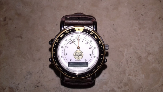 Relógio Magnum Quartz Original De Pulso Masculino 50 M Wr