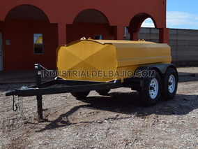 Remolque Pipa Tanque 2500 Lts.para Combustible Diesel