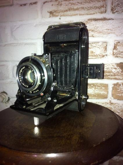 Câmera Antiga Ikon Zeiss Troco Por iPad Ou Mesa Digitalizad.