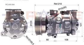 Compressor Ar Condicionad Fiat Marea 2.4 Turbo Novo Original