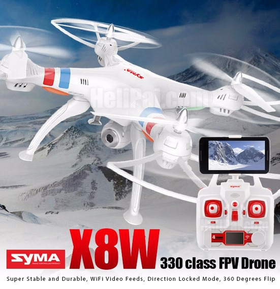 Drone Syma X8w Com Câmera Wifi Pronta Entrega