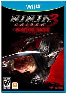 Ninja Gaiden 3 Original Sellado Wii U