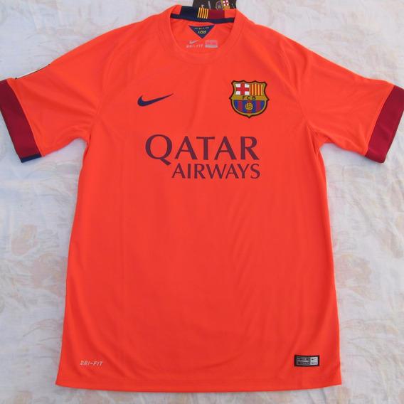 610595-673 Camisa Nike Barcelona Away 14/15 M Fn1608
