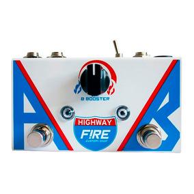 Pedal Guitarra Fire Highway Ab Box E Booster