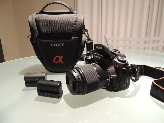 Camera Digital Sony A350 Dslr 14.2 Megapixels Lente 18/70