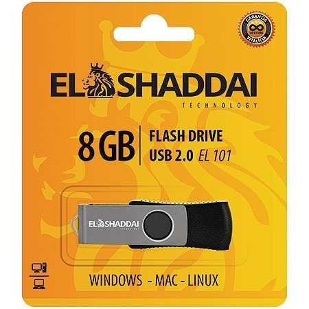 Pen Drive El Shaddai 8 Gb Usb 2.0 El101