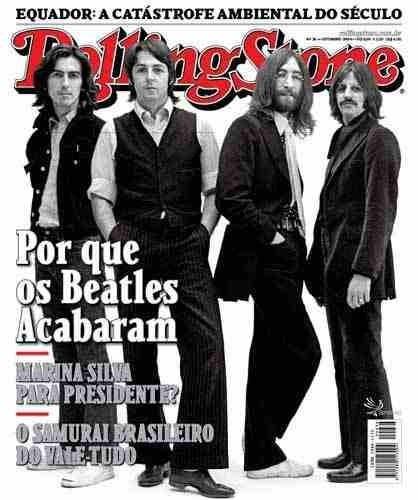 Rolling Stone Nº 36 Setembro 2009 Capa Beatles