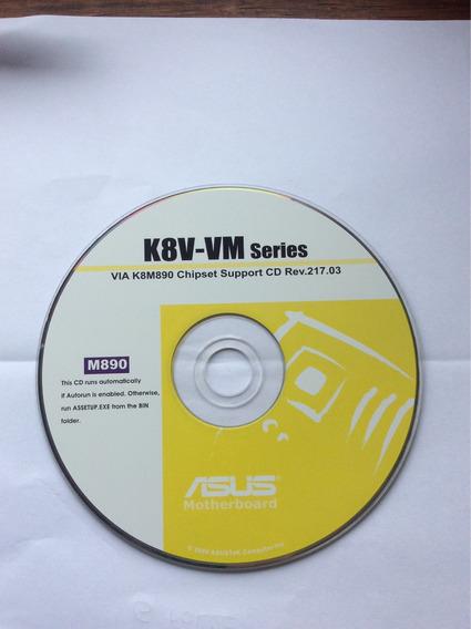 Disco De Instalação Asus K8v-vm