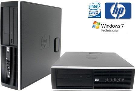 Cpu Hp Ddr3 Core 2 Duo Computadora D.d 320gb, 2 Ram, 1 Año G