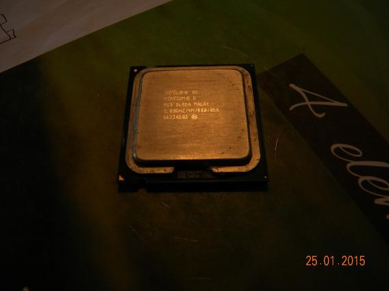 Processador Pentium D915 2,8ghz Lga775