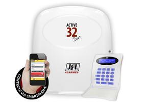 Central De Alarme Jfl Active 32 Duo Lcd