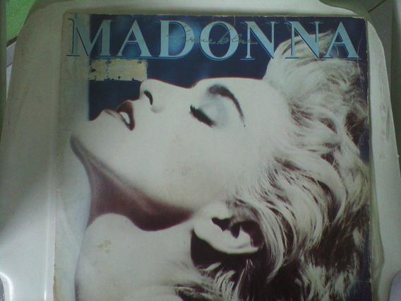 Raridade Lp Madonna - True Blue