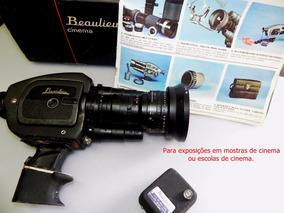 Câmera Beaulieu 4008zm-li Relíquia 8mm Para Mostruário.