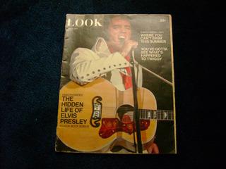 Elvis Presley Revista Look May 4, 1971