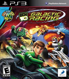 Juego Ps3 Ben 10 Galactic Racing Formato Fisico