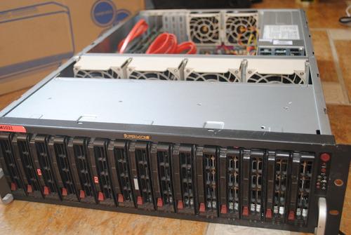 Imagem 1 de 4 de Servidor Supermicro Xeon Six Core Sata 3 Ddr3 32 Ram