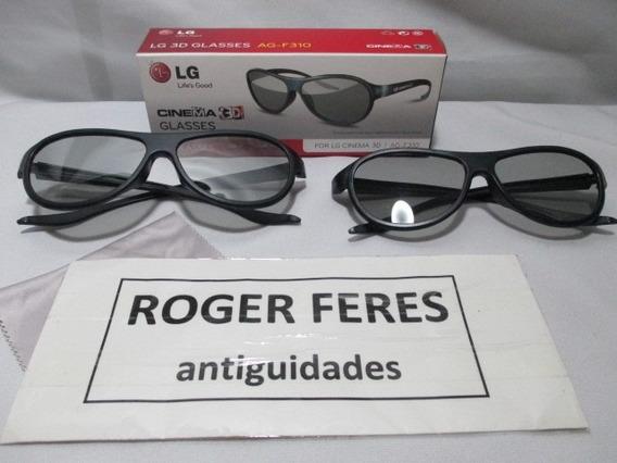 Oculos 3d Lg Glasses Cinema Ag-f310