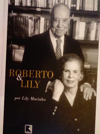 Roberto & Lily Marinho Autobiografia Globo Luxo Ilustrado