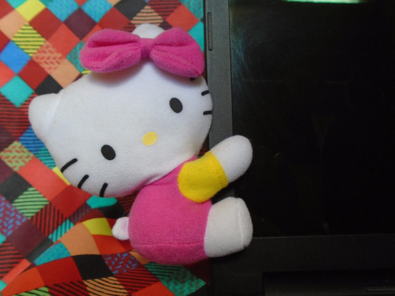 Hello Kitty - Pelúcia Decorativa - Presente/ Decoração