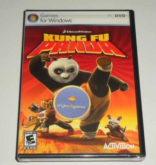 Kung Fu Panda | Pc Mídia Física Original Lacrado