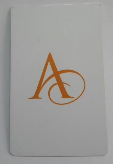 Tarjeta Ingreso Habitacion Gran Hotel Argentino Bs. As.