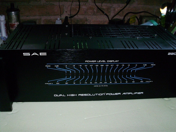 Sae 2201- Dual High Resolution Power Amplifier