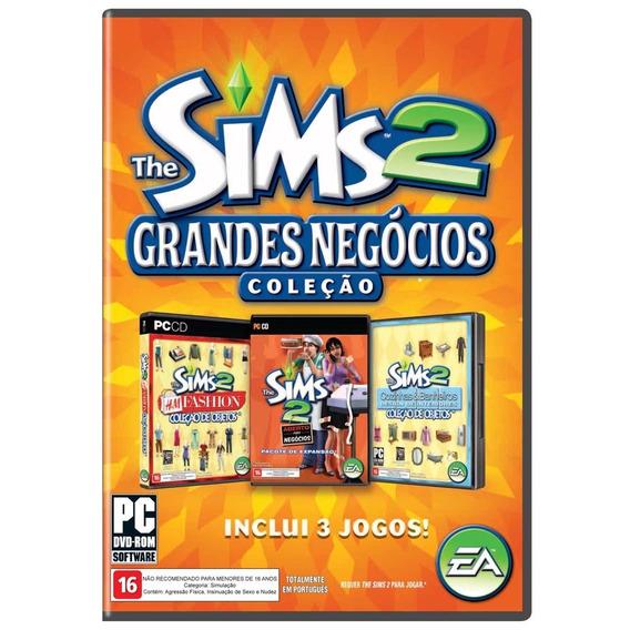 Jogo Novo Lacrado The Sims 2 Grandes Negócios Pc Computador