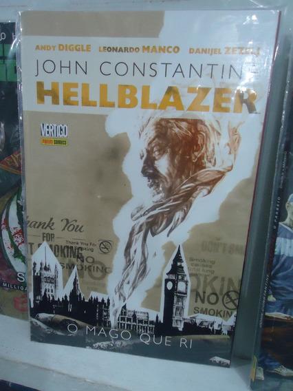 Hellblazer O Mago Que Ri Edição Encadernada Panini Comics