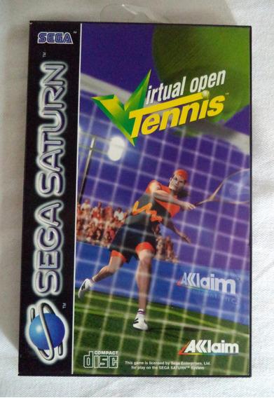 Sega Saturn Virtual Open Tennis