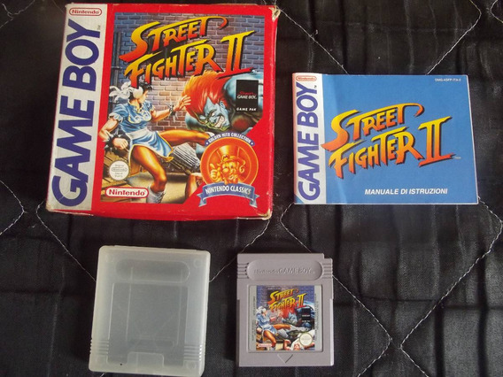 Street Fighter 2 Completo Original Game Boy