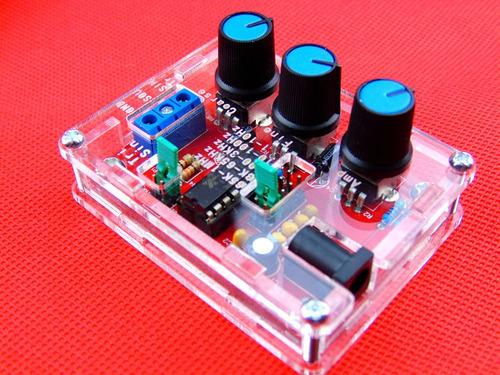 Kit Generador De Funciones Xr2206 1 Hz - 100 Kz Con Case