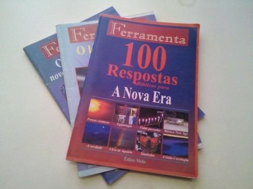 Livretos Ferramenta Édino Melo. 03 Unidades.