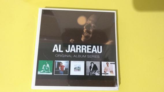 Box Al Jarreau Original Album Series 5 Cds - Lacrado
