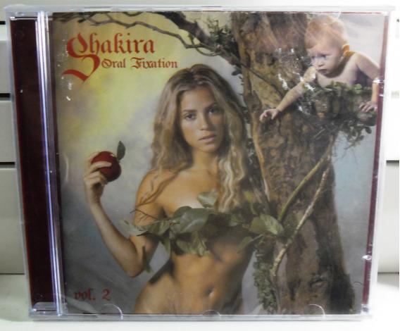 Shakira Cd Oral Fixation Vol.2 Raro Regaee Pop Dance Funk