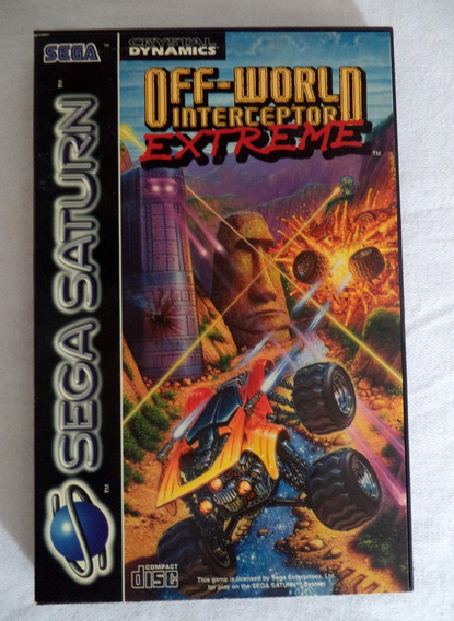 Sega Saturn Off-world Interceptor Extreme